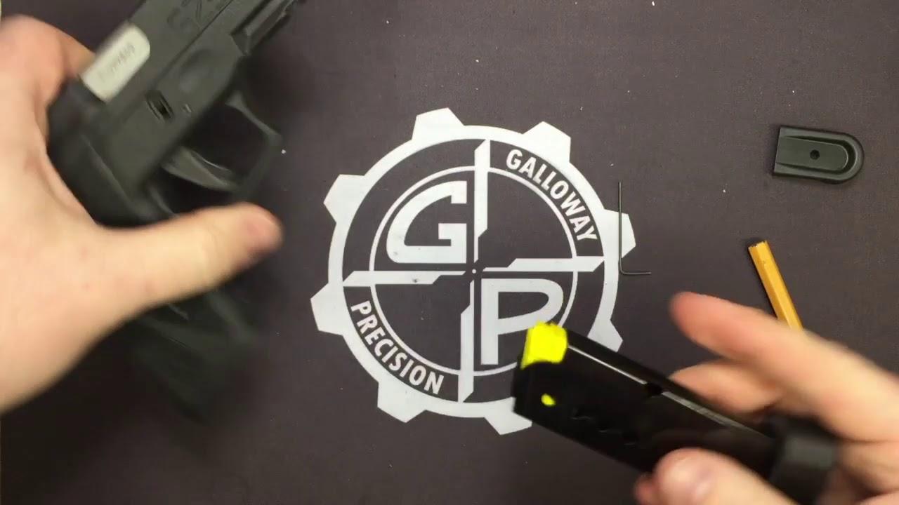 Taurus G2S +1 Magazine Extension Installation
