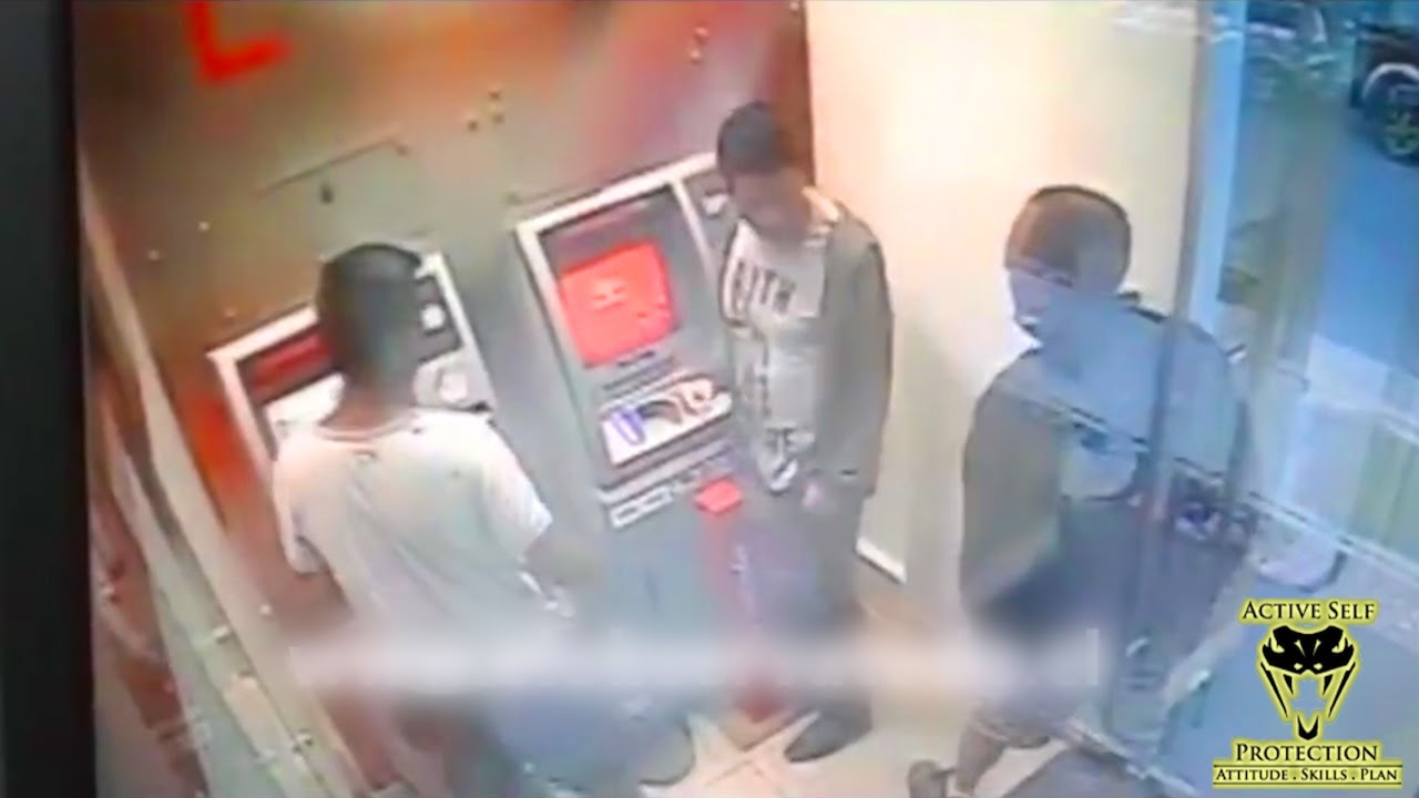 Off Duty Cop Gets the Last Laugh on ATM Muggers | Active Self Protection