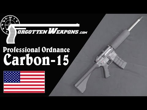 Professional Ordnance Carbon-15: A Super-Light AWB AR-15