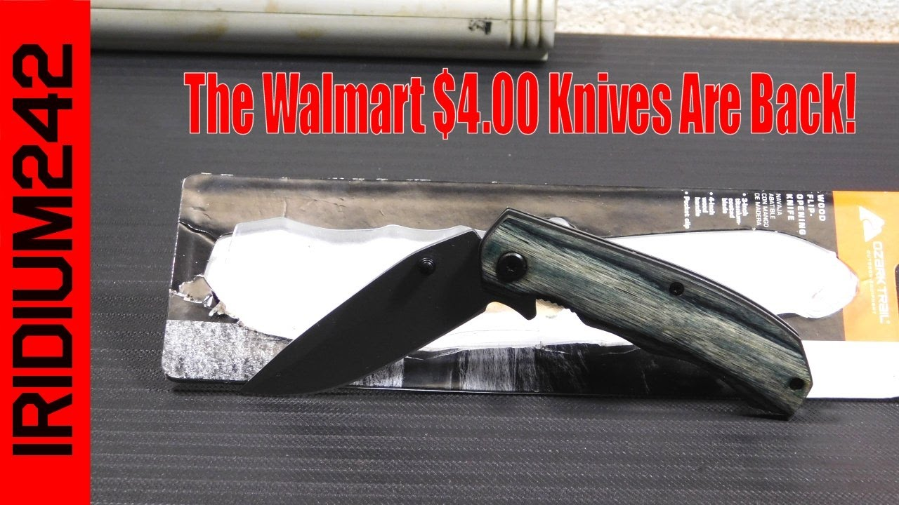 The Walmart Four Dollar Knives Are Back!