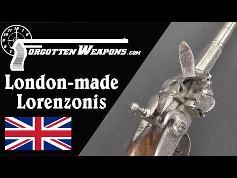 London-Made Lorenzonis Repeating Flintlocks
