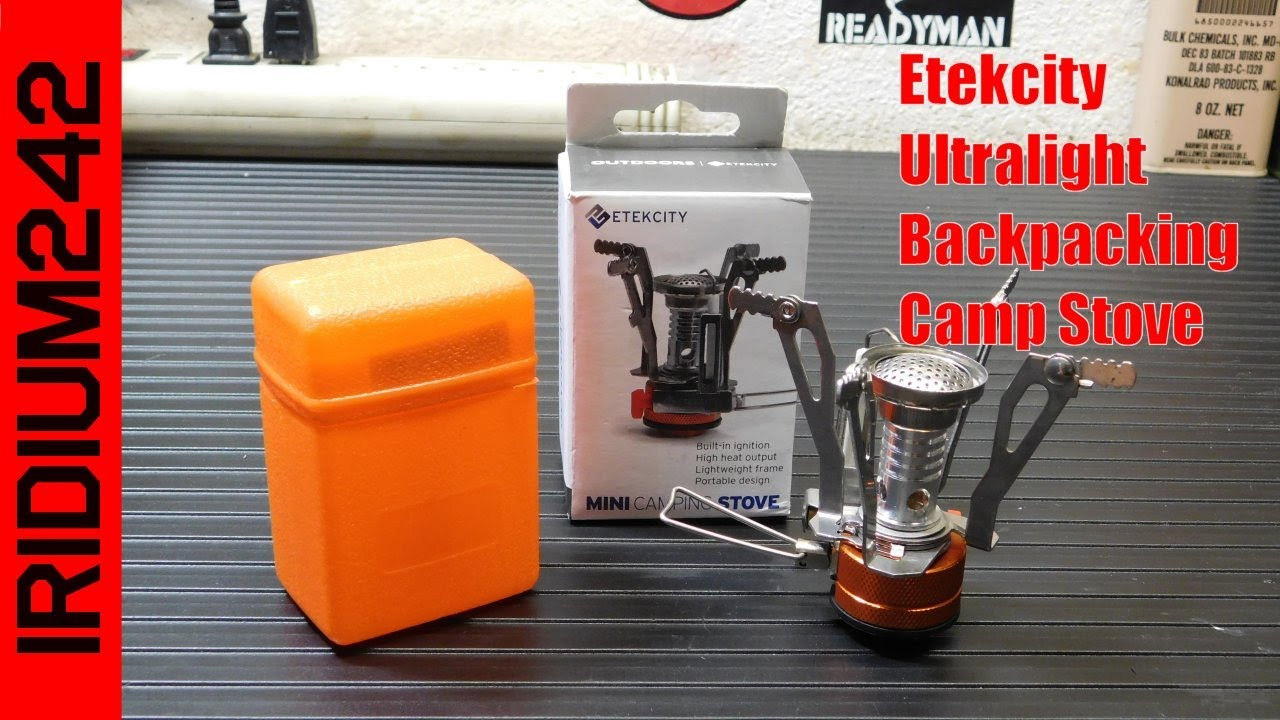 Etekcity Ultralight Backpacking Camp Stove
