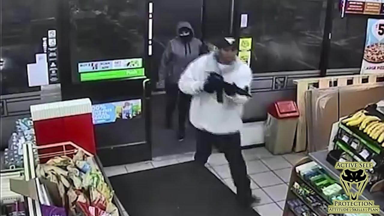 Armed Robbers Can't Handle Armed Resistance | Active Self Protection