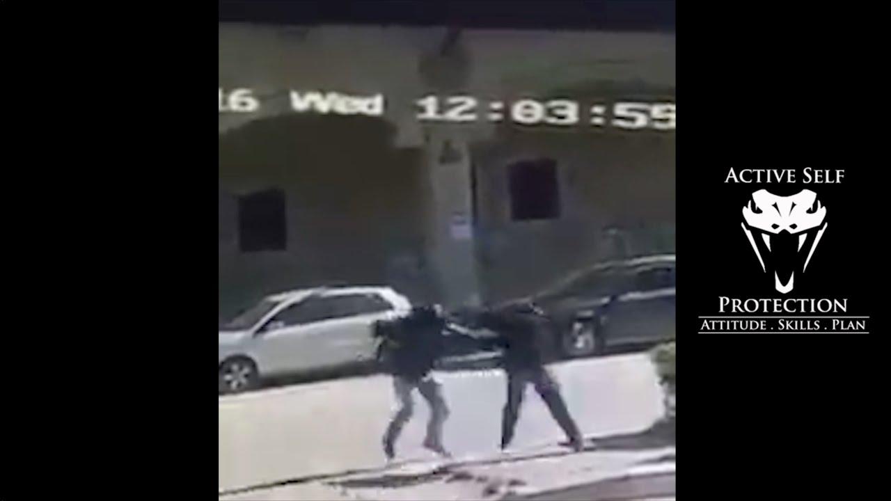 Victim Shoots Knife Wielding Attacker