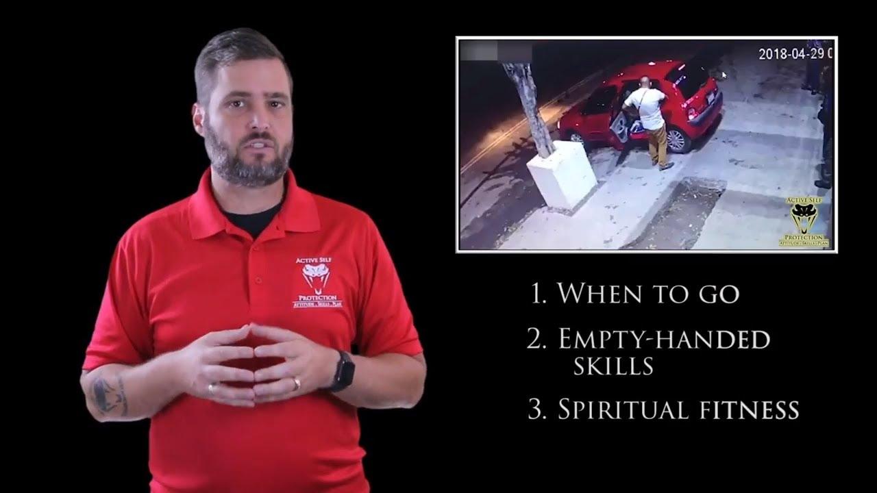 Bouncer Who Needed Spiritual Fitness | Active Self Protection