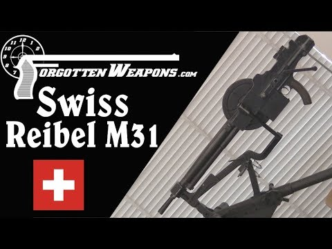 Swiss Reibel M31 Tank & Fortress Machine Gun