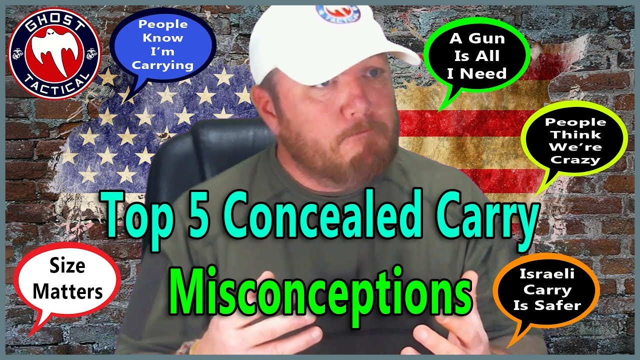 Top 5 Concealed Carry Myths DEBUNKED!