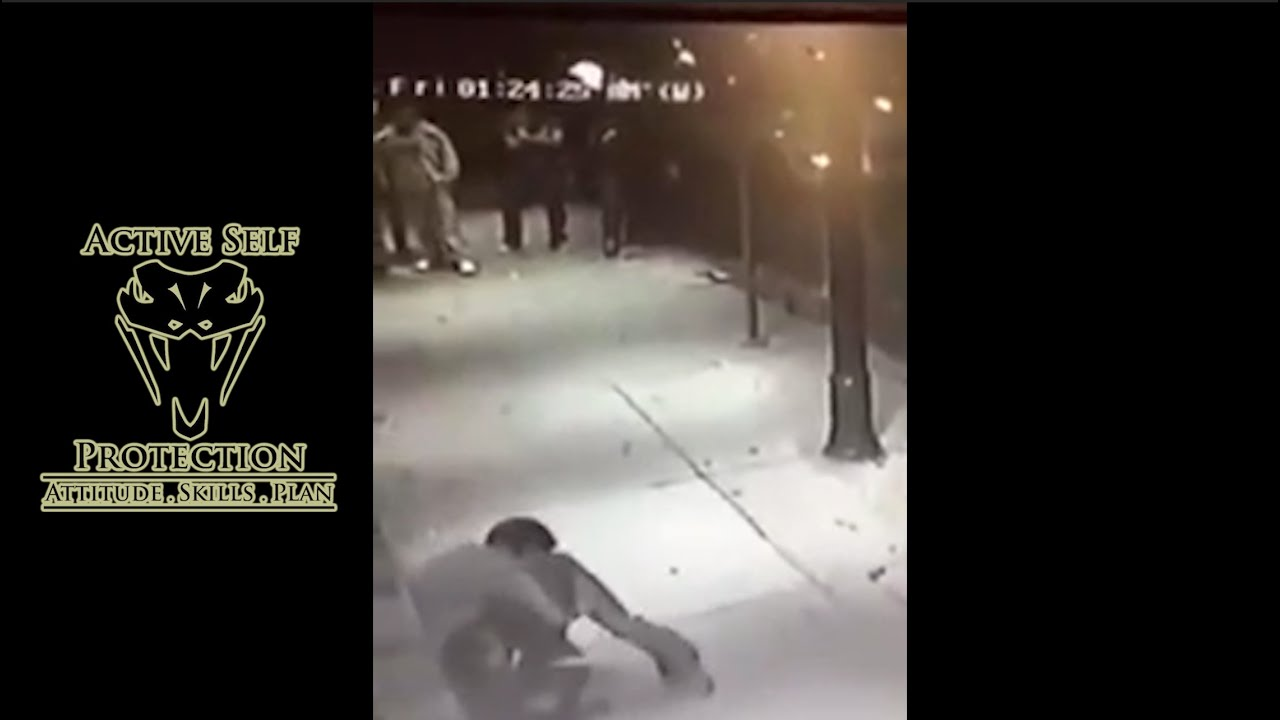 This is Why You Want to Get Up Fast in a Street Fight