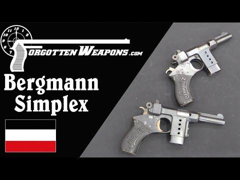 Bergmann Simplex Pocket Pistols