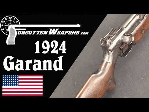 Garand Primer-Activated 1924 Trials Rifle