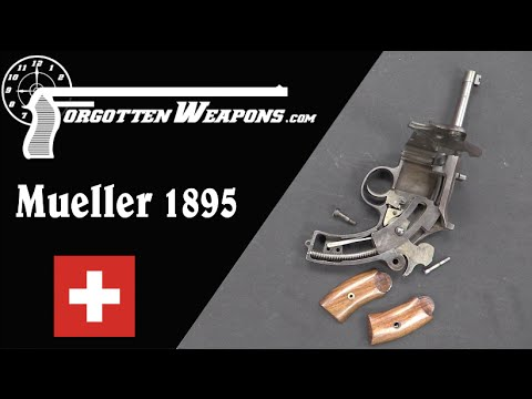 Müller 1895 Curved-Recoil Pistol