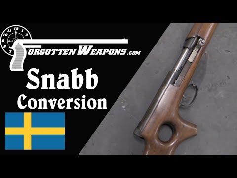 Snabb Semiauto Conversion of a Dutch Mannlicher