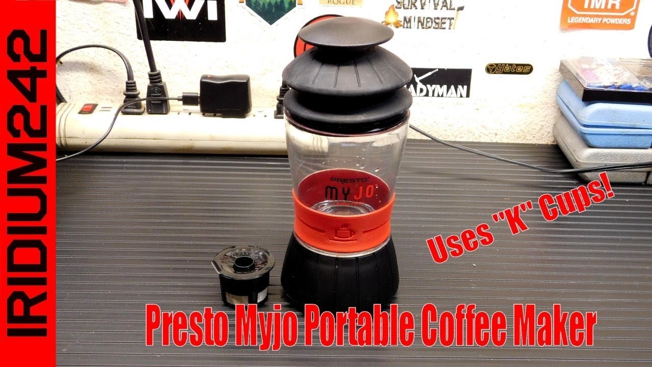 Presto MyJo Portable Coffee Maker, Perfect for the trail or camp!