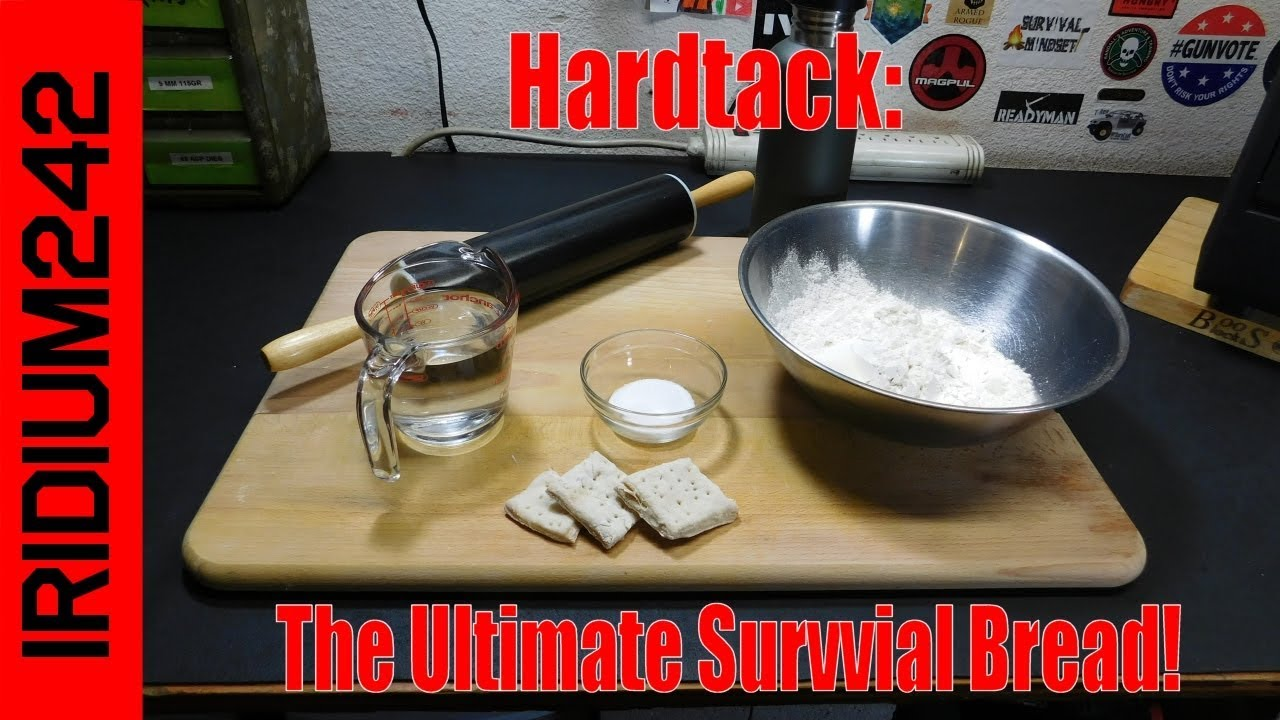Making Hardtack:  The Ultimate Survival Bread!