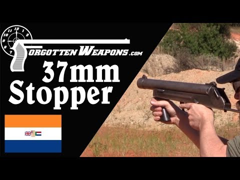 Stopper 37mm: A Simple South African Riot Control Gun