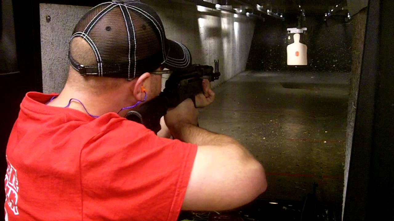 Shooting my AK - just some down range shots