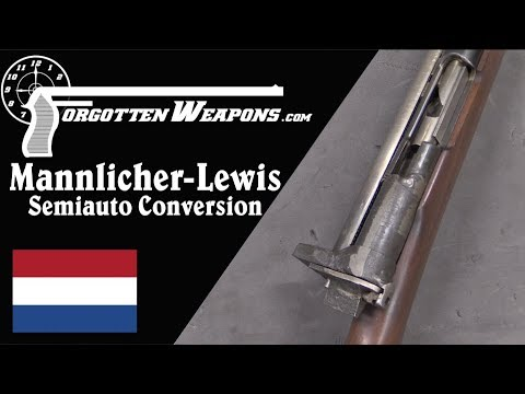 Dutch Mannlicher Plus Lewis Gun Bolt Equals Semiauto...?