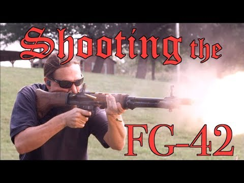 Full-Auto FG-42: An Original 2nd Pattern at the Range