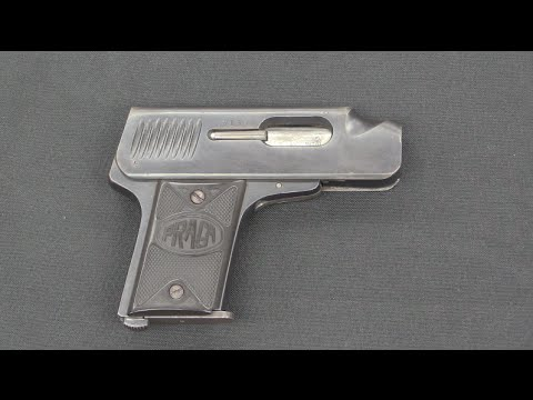 Praga 1921 One-Handed Pocket Pistol