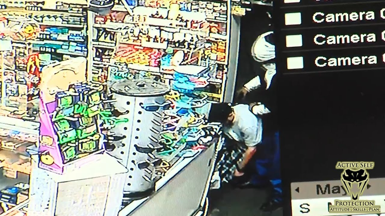 Clerk Waits for Opportunity to Make Robber Regret His Life Choices | Active Self Protection
