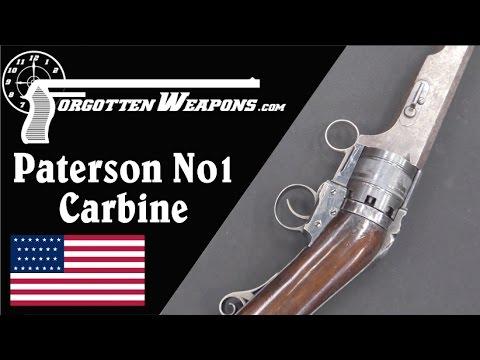 Sam Colt's Paterson No1 Model Carbine