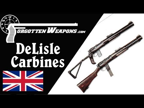 The DeLisle: Britain's Silenced .45 ACP Commando Carbine