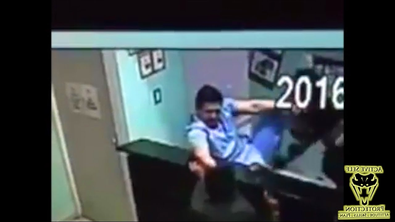 Veterinarian Puts a Beat Down on Two Armed Robbers | Active Self Protection