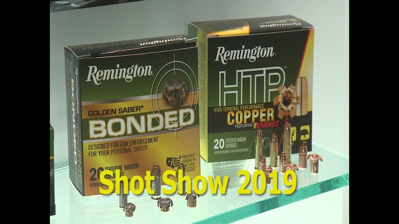 Shot Show 2019: Remington Ammo