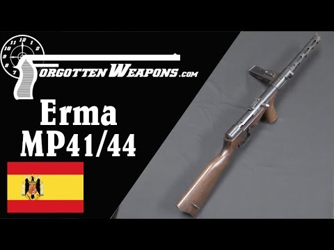 Spanish MP41/44 - A Copy of the Erma EMP