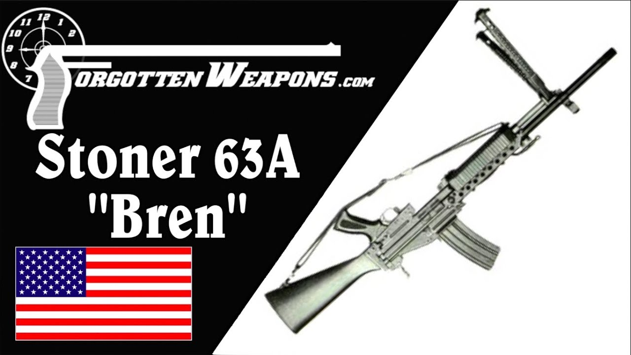 Stoner 63A Automatic Rifle - The Original Modular Weapon