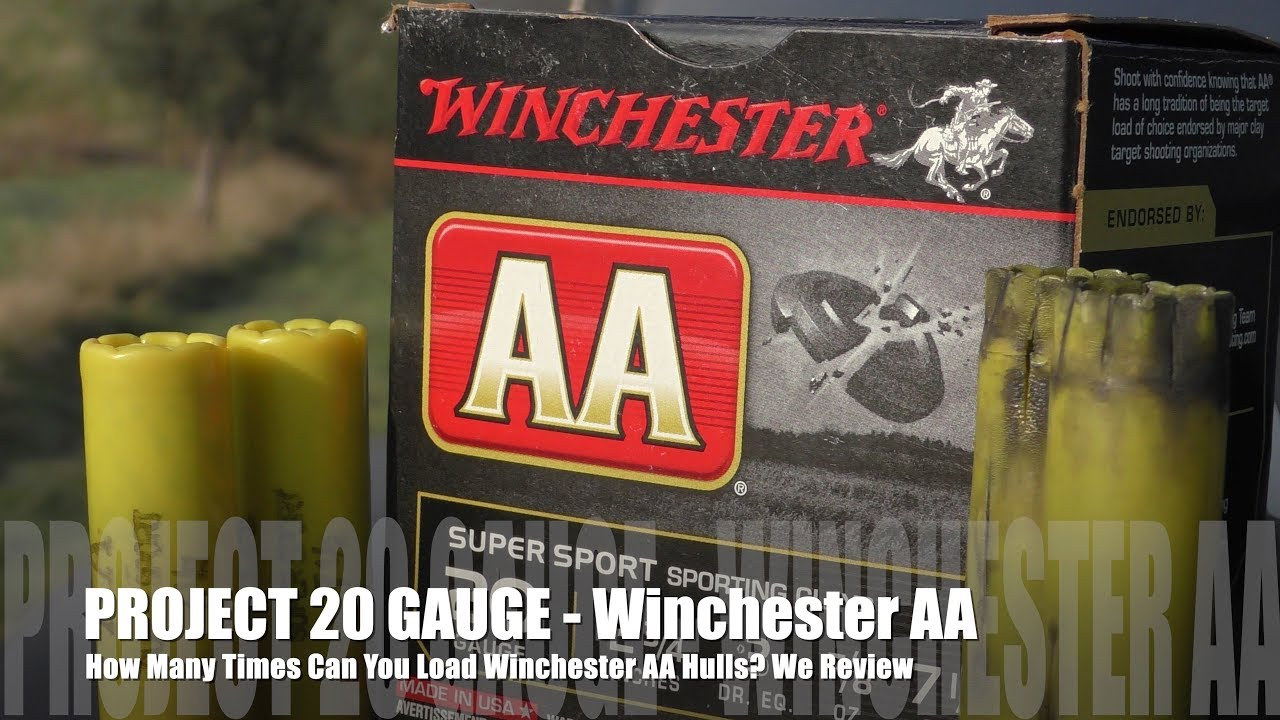 How Many Times Can You Load Winchester AA - PROJECT 20 GAUGE EDITION!