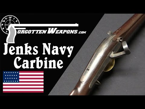 The Svelte Jenks Navy Carbine of the Mexican-American War
