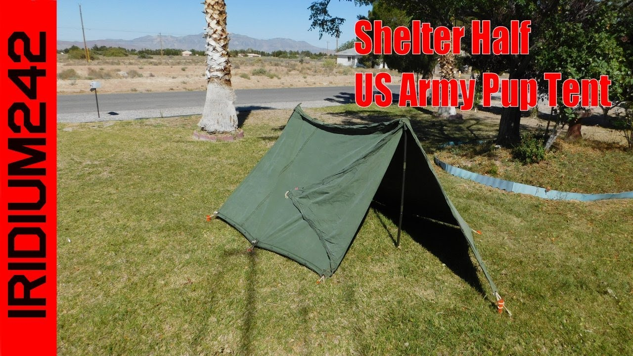 Shelter Half: US Army Pup Tent