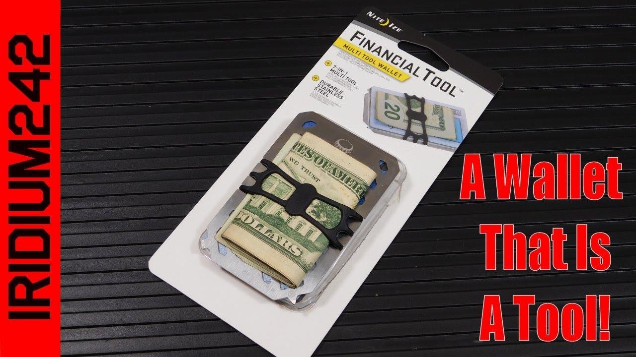 Nite-Ize FinancialTool Multi Tool Wallet
