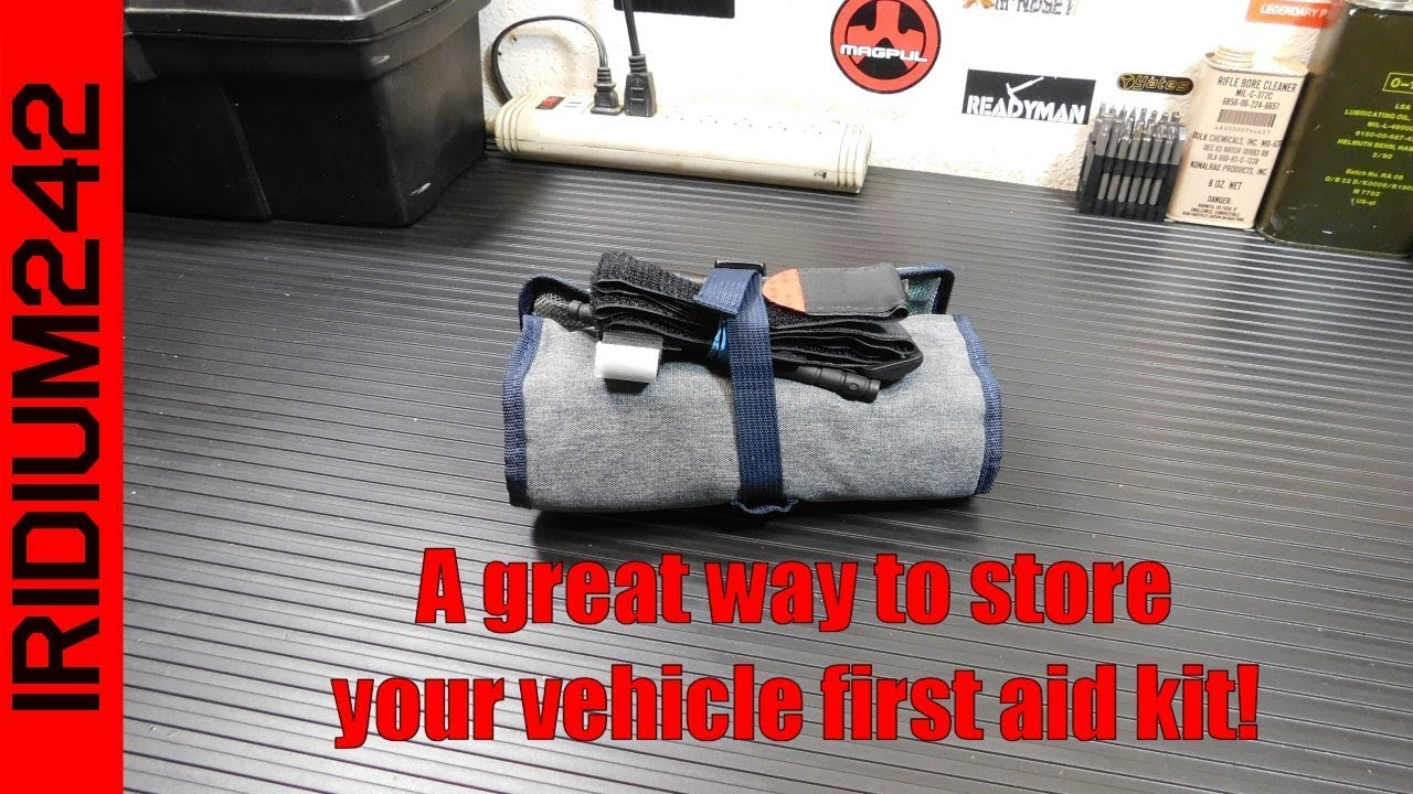 A Great Way To Store Your Vehicle First Aid Kit