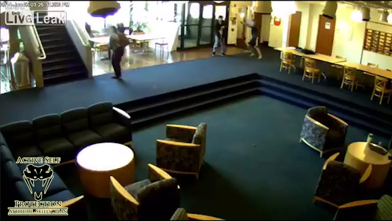 Brave Student Stops Active Shooter on Campus | Active Self Protection