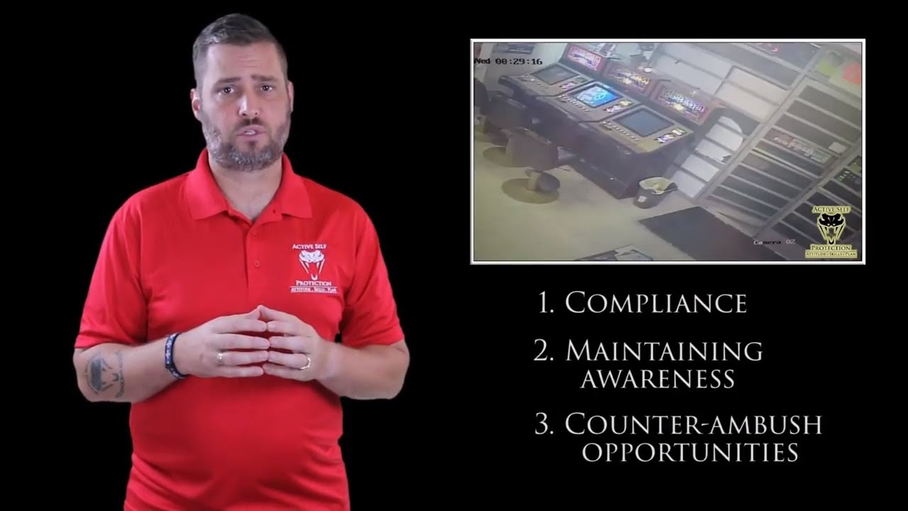 Compliance Should Be Temporary As You Look To Counter-Ambush | Active Self Protection