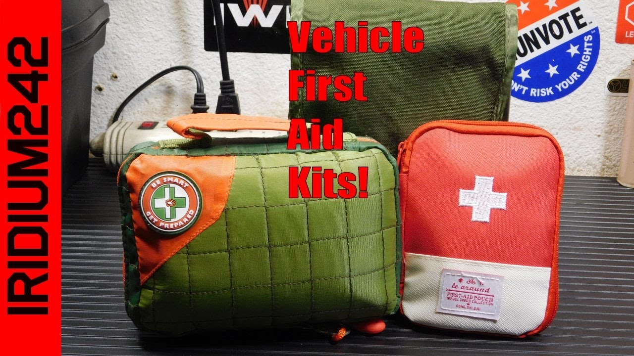 A Vehicle First Aid Kit