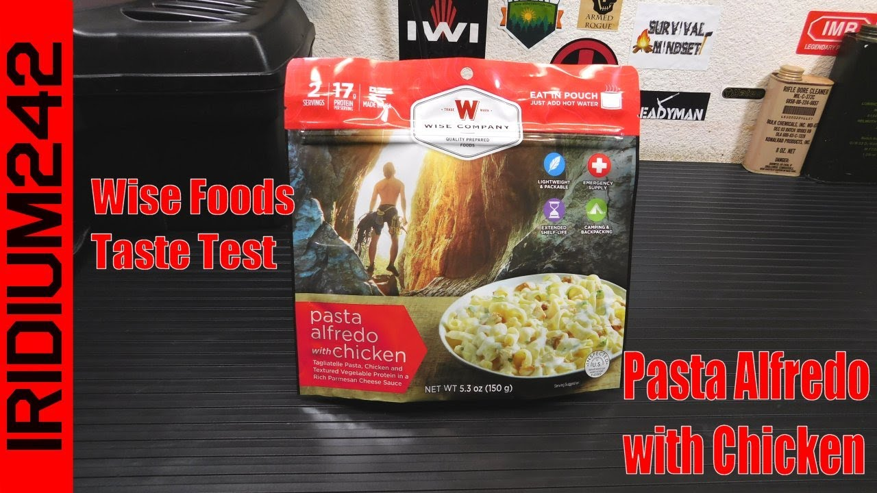 Wise Foods Taste Test: Pasta Alfredo with Chicken