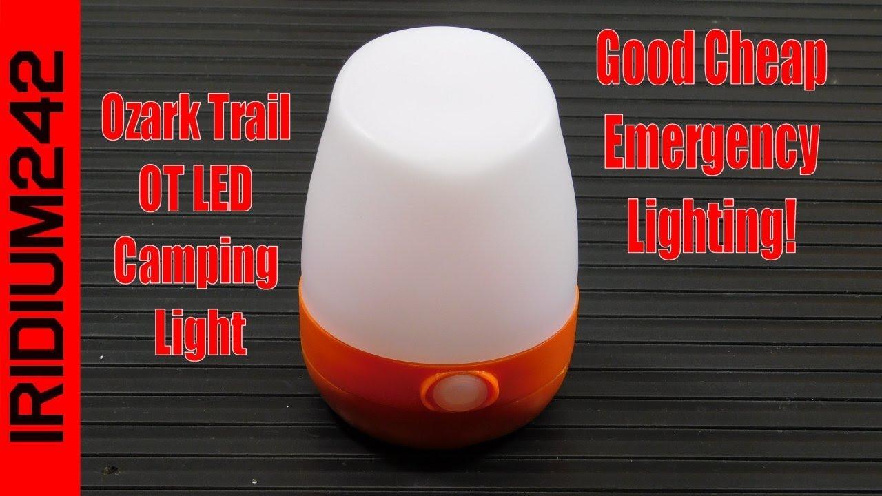 Ozark Trail OT LED Camping Light: Great Emergency Lighting!
