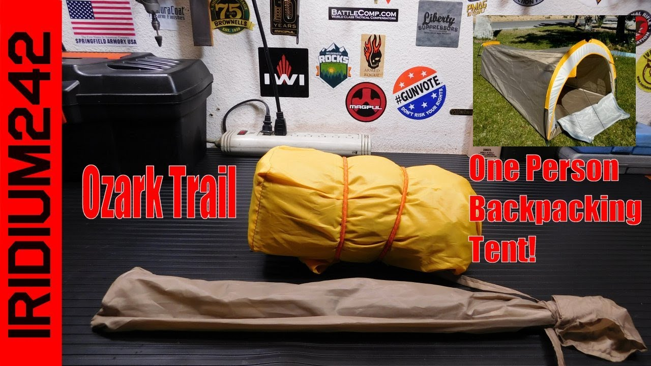 Ozark Trail One Person Backpacking Tent