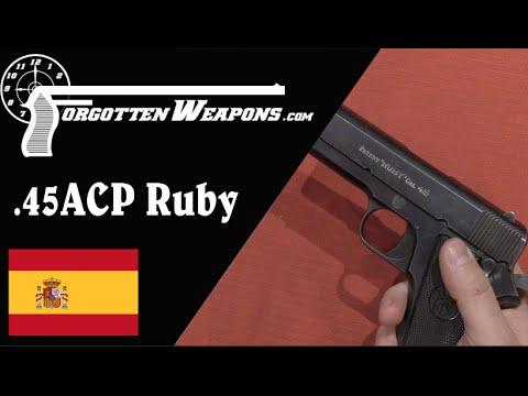 Early 45 ACP Ruby