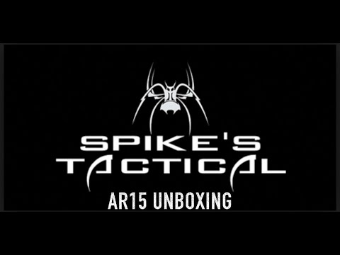 Spikes Tactical/Pipe Hitters Union  AR 15 Un Boxing