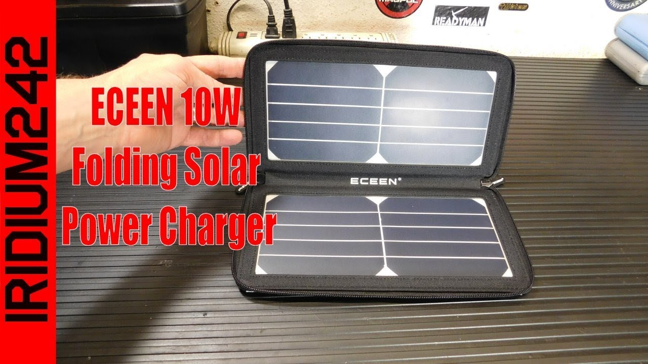 ECEEN 10W Folding Solar Power Charger