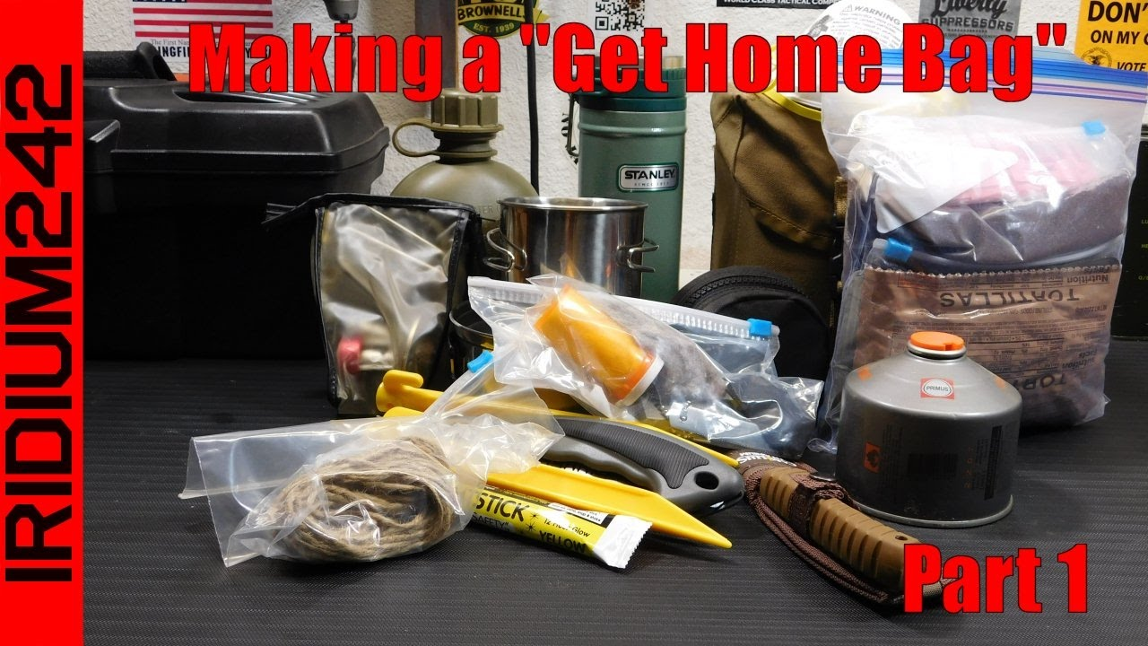 Not a bug out bag, a get home bag! Part 1