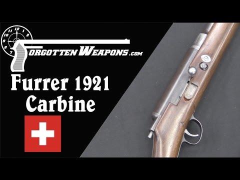 Bern Prototype Carbine: Intermediate Cartridges in the 1920s