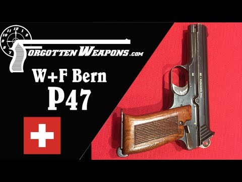 W+F Bern P47 Experimental Gas-Delay Pistol
