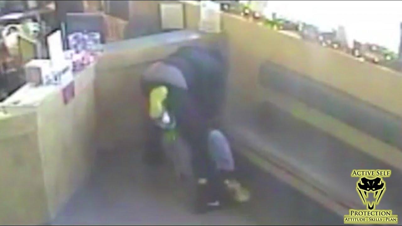 Armed Robber Counter Ambushed At Animal Hospital | Active Self Protection