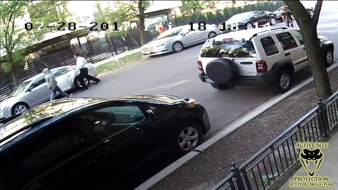 Two Carjackings in Chicago Show When to Run and When to Stand Your Ground | Active Self Protection