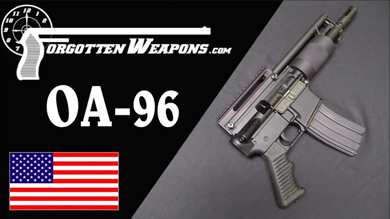 Olympic OA96 Pistol: A Loophole in the Assault Weapons Ban